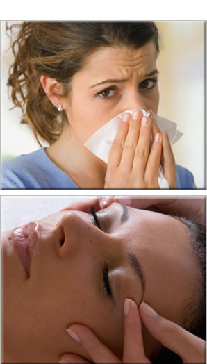 Sinusitis relief osteopathy